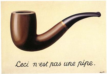 Pipa av Magritte