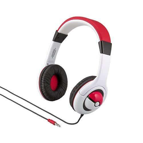 ポケモン ヘッドフォン 子供 キッズ用 Pokemon Stereo Headphones [並行輸入品]