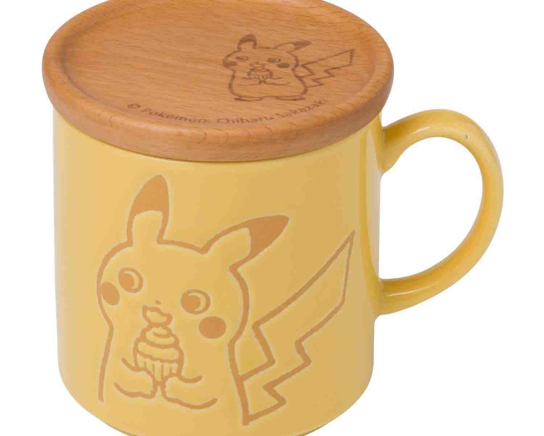 ポケモンセンターオリジナル コースター付きマグ Pokémon のんびりライフ ピカチュウ