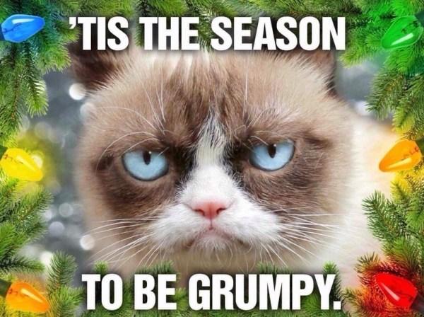 it's the grumpy season