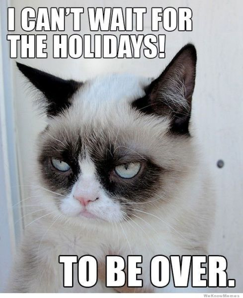 when will the holidays be over