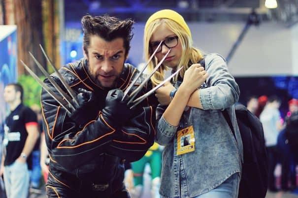 Wolverine found at the Comic Con in Russia