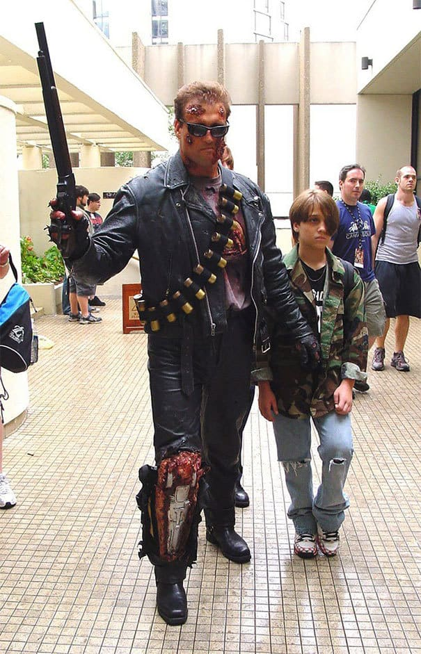 Astalavista Baby from Terminator Cosplay