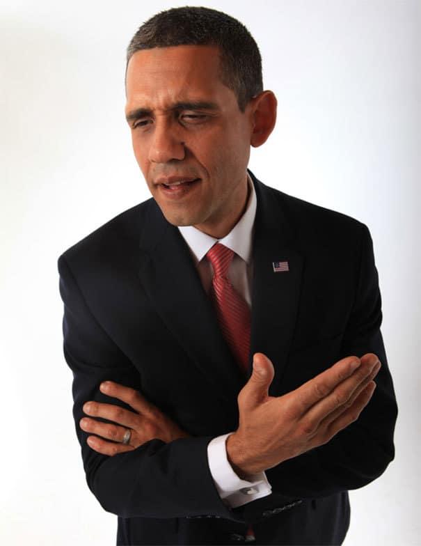 Barack Obama Cosplay