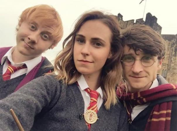 The Gang of Harry Potter Cosplay