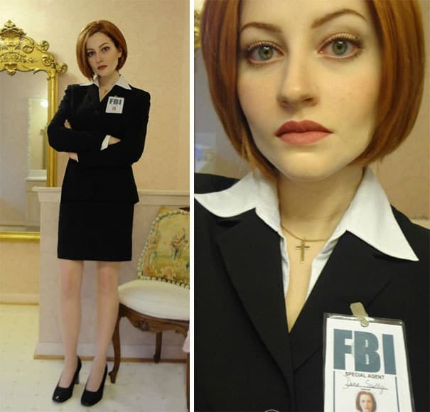 Mulder from X-files Cosplay