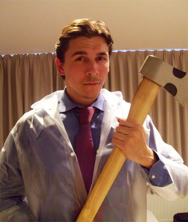 Patrick Bateman From American Psycho For Halloween