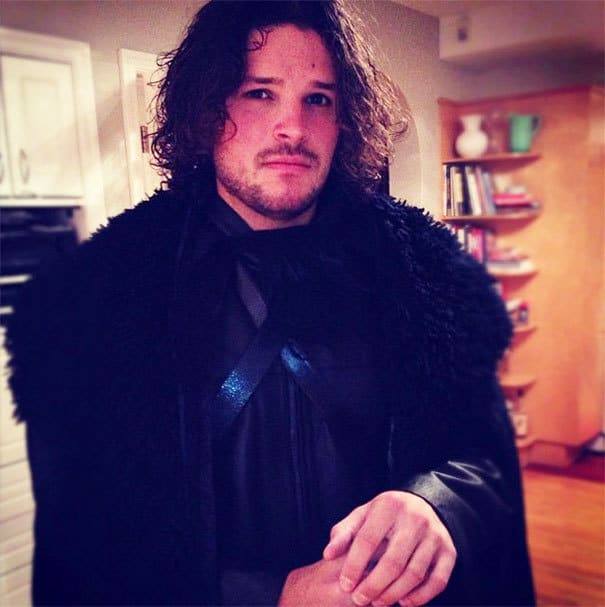 Jon Snow from the Game of Thrones Cosplay