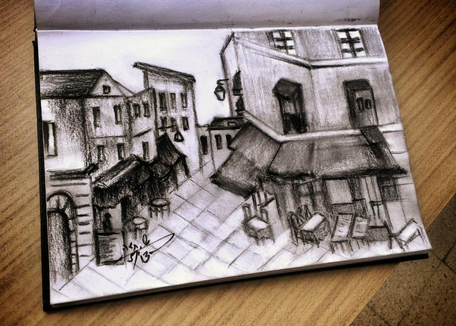 landscape+drawing
