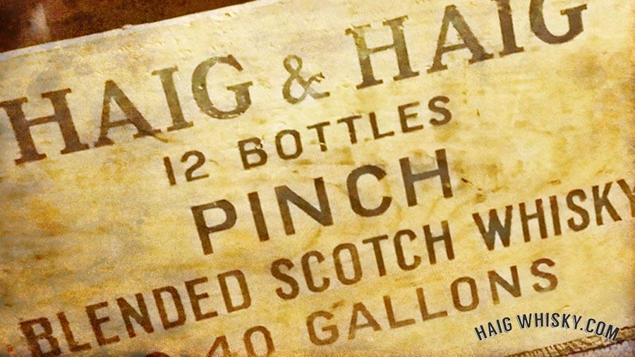 HaigWhisky.com Our History