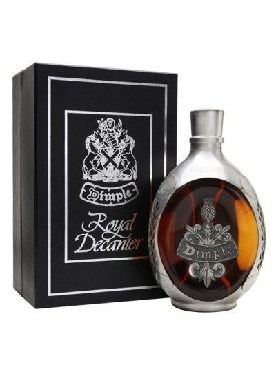 "Dimple ""Royal Decanter"" (Pewter) Blended Scotch Whisky"