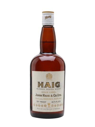 Haig Gold Label / Bot.1970s Blended Scotch Whisky