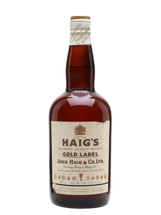Haig's Gold Label / Bot.1950s / Spring Cap Blended Scotch Whisky
