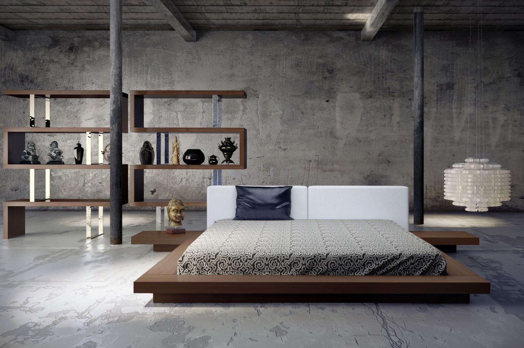 Arata Japanese Platform Bed Haiku Designs