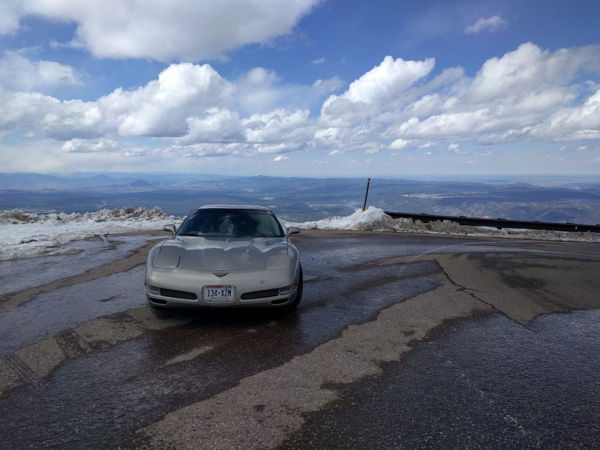 Corvette at Pikes Peak