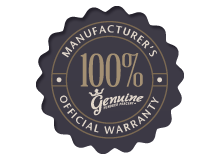 official manufacturers warranty