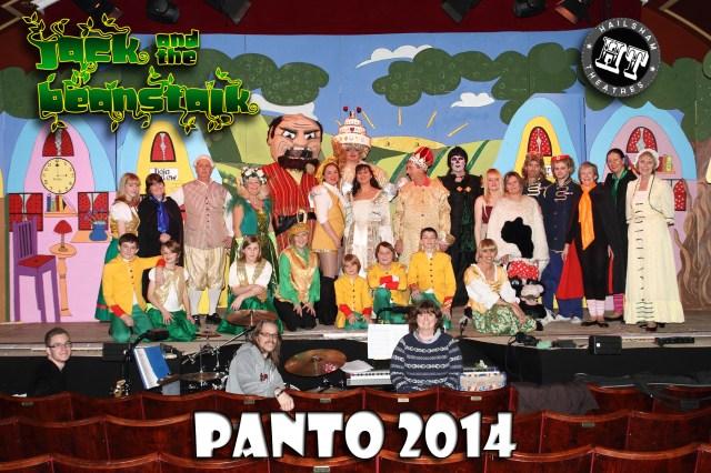 Panto Cast 2014