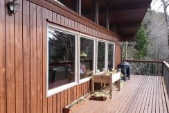 Deck sunny