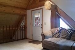 Upper deck door