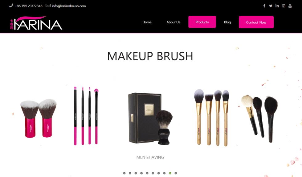 Karina makeup brush
