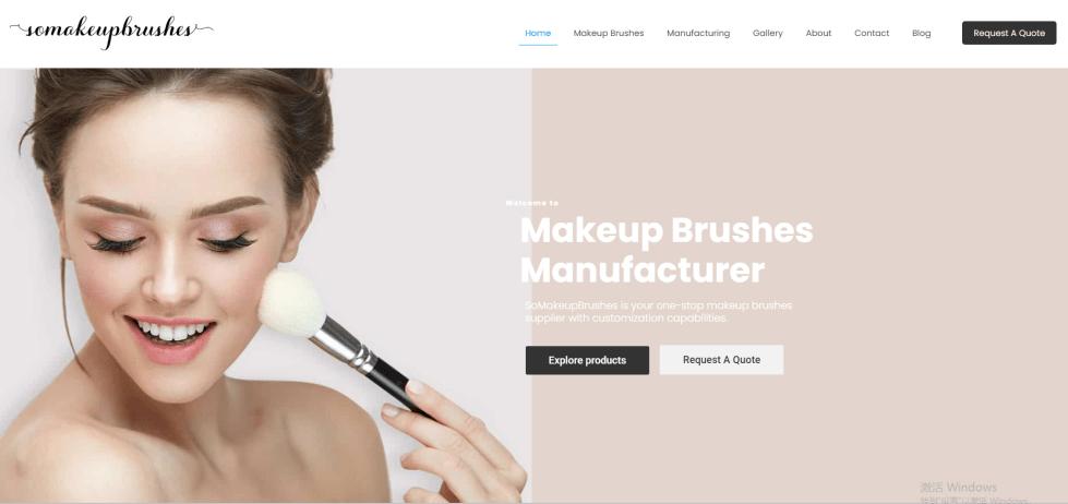 SoMakeup makeup brush