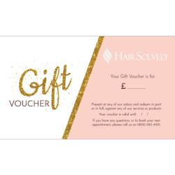 Hair Solved gift voucher