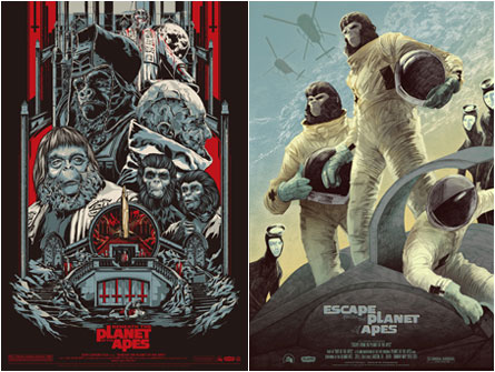 Beneath The Planet of the Apes / Escape From the Planet of the Apes