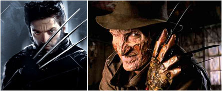 Wolverine, Freddy Krueger
