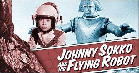 Johnny Sock And His Flying Robot