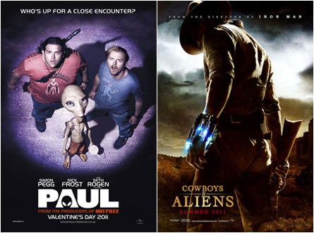 Paul, Cowboys and Aliens