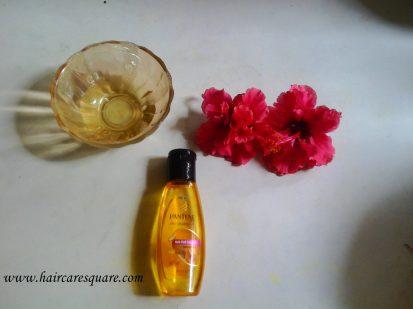 diy hibiscus hair oil