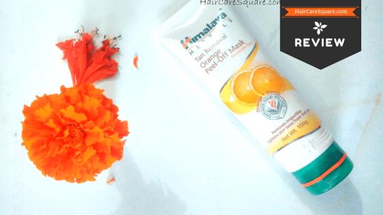 himalaya herbals tan removal orange peel-off mask