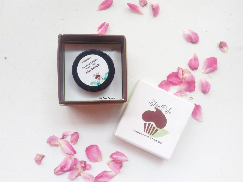 skin cafe lip scrub review