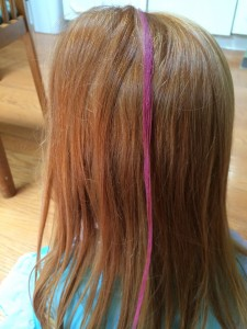 how to apply hair chalk with a sealant hair chalk how to