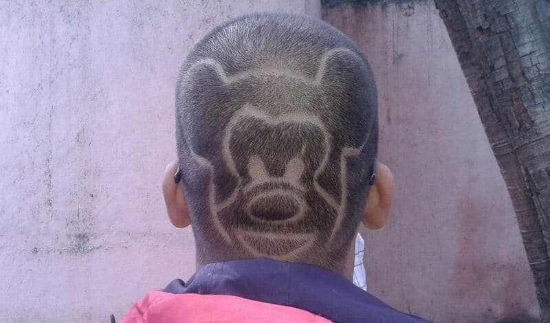 You certainly wouldn't want to have THAT kind of a clipper haircut style...or would you?