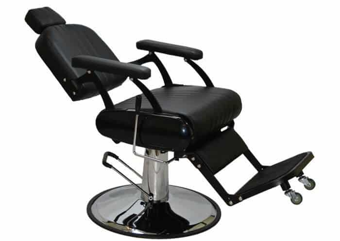 LCL Beauty comes with a classic style salon hydraulic barber chair to any stylist's delight.