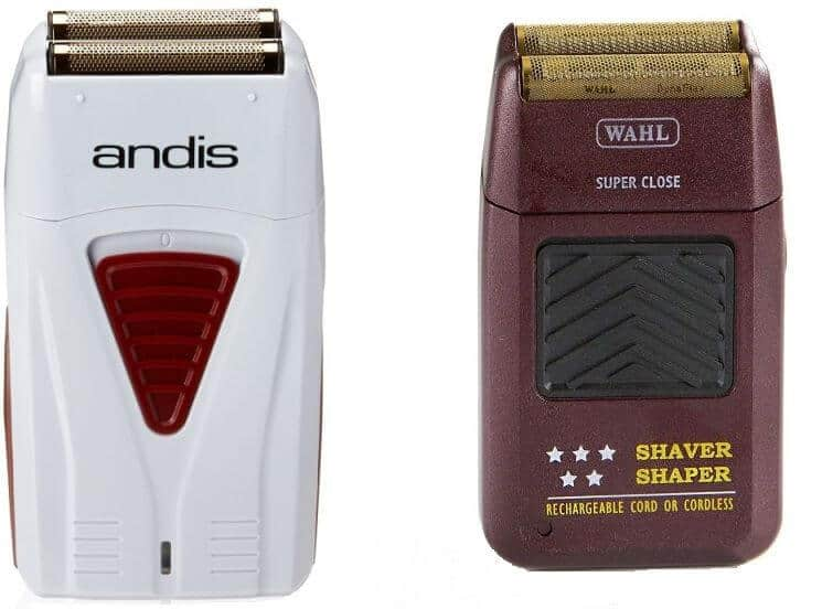 Andis Profoil vs 5 star Shaver Shaper: battle of the barber foil shavers.