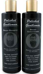 beard and shampoo conditioner