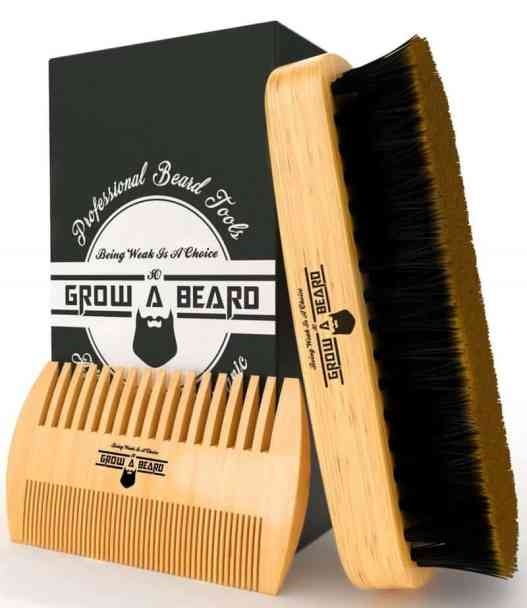 beard comb vs. brush