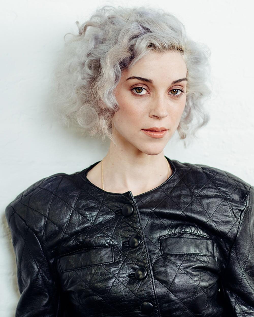 Gray Short Curly Hair Style 2019 Hair Colors