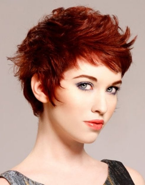 Short Hairstyles For Women With Red