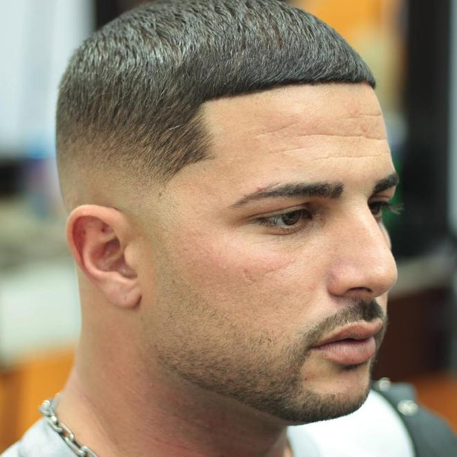 Fade Line Up Hairstyle