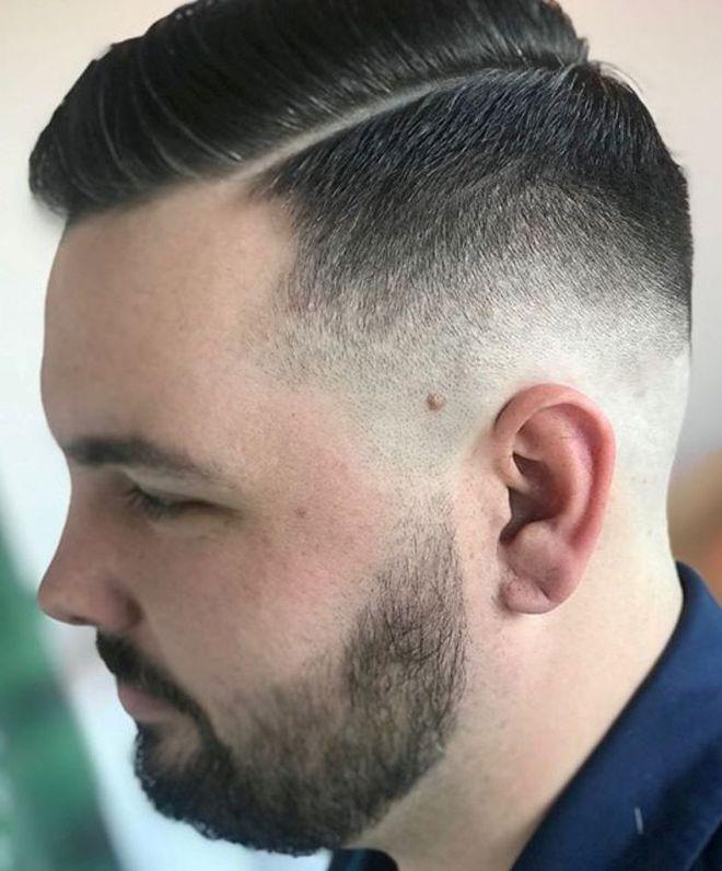 Hardpart Undercut Hairstyle
