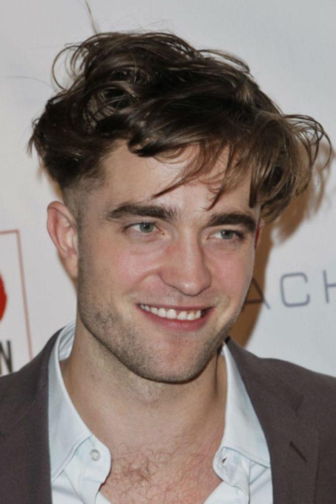 Robert Pattinson Messy Hairstyle For Men