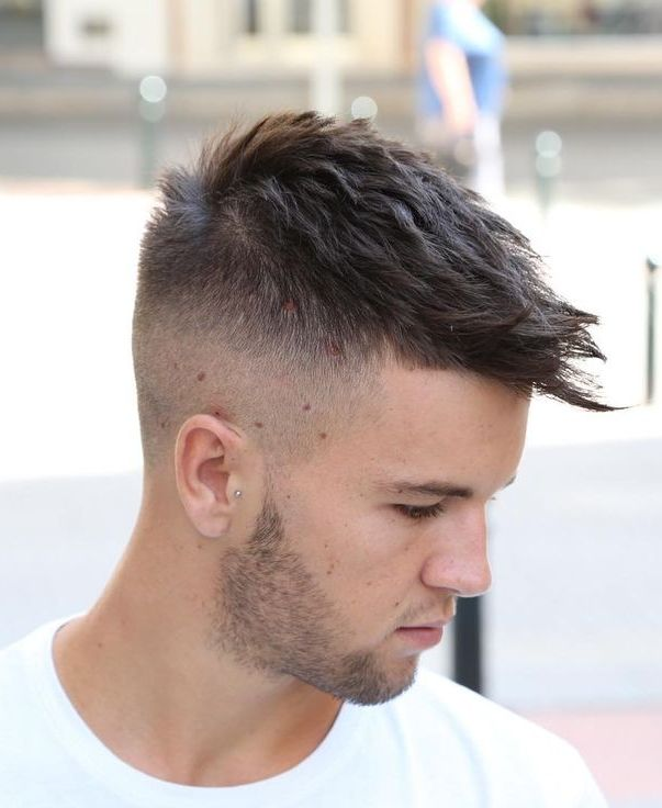 Textured Short Hair For Men