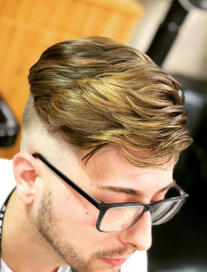 Foiled Hair Color