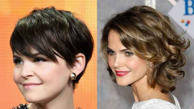 Big Hair Cuts With Short Haircuts For Fat Faces And Double Chins