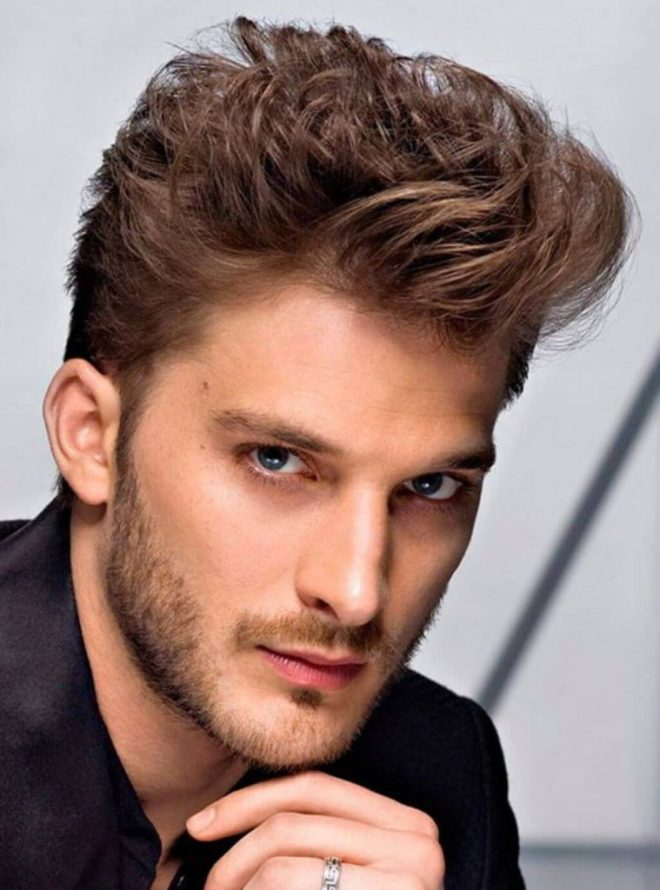 Loose Quiff Hairstyle