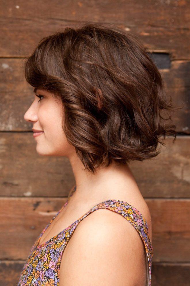 Jagged Cut Short Hairstyle