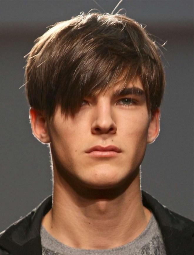 Angular Fringe Hairstyle